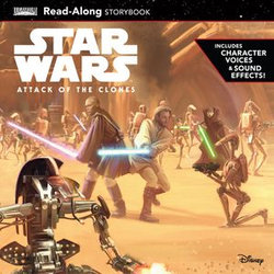 Star Wars: Attack of the Clones Read-Along Storybook