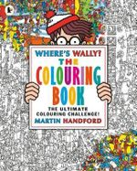 Where's Wally? The Colouring Book!