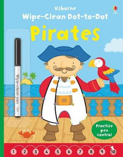 Wipe-clean Dot-to-dot Pirates