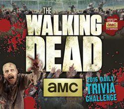 Walking Dead Trivia Challenge Calendar
