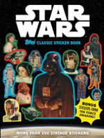 Star Wars Topps Classic Sticker Book