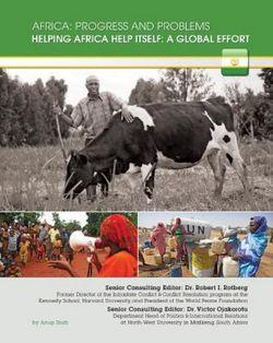 Helping Africa Help Itself