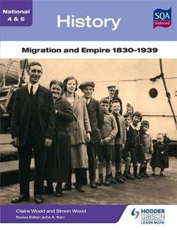 National 4 & 5 History: Migration and Empire 1830-1939