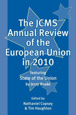 The JCMS Annual Review of the European Union in 2010