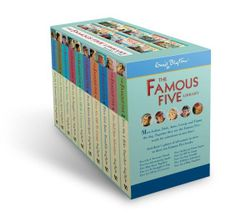 Famous Five Books 1-10 Classic Editions Box Set