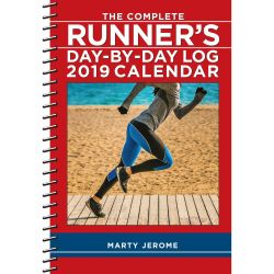 ece7f0d08c Complete Runner's Day-by-Day Log 2019 Diary 2019 Day-To-Day Calendar Diary  by Marty Jerome Diary | Pub: 17/07/2018