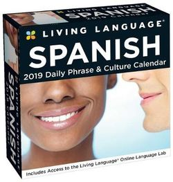 Living Language: Spanish 2019 Day-to-Day Calendar