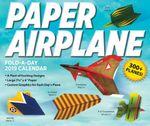 Paper Airplane Fold-a-Day 2019 Desk Activity Calendar