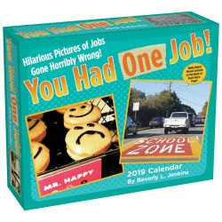 You Had One Job 2019 Day-to-Day Desk Calendar