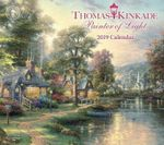 Thomas Kinkade: Painter of Light 2019 Deluxe Wall Calendar