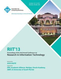 Riit 13 Proceedings of the 2nd Annual Conference on Research in Information Technology