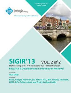 Sigir 13 the Proceedings of the 36th International ACM Sigir Conference on Research & Development in Information Retrieval V2