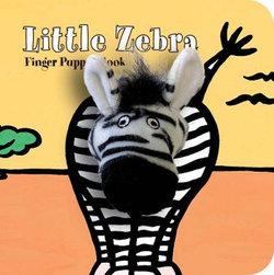 Little Zebra: Finger Puppet Book