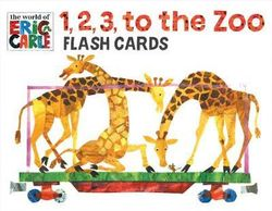 1, 2, 3, to the Zoo Train Flash Cards