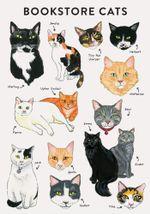 Bibliophile Flexi Journal: Bookstore Cats
