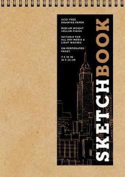 Sketchbook (Basic Medium Spiral Fliptop Landscape Kraft)