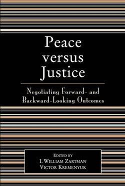 Peace versus Justice