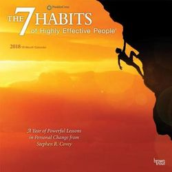 7 Habits of Highly Effective People, the 2018 Wall Calendar