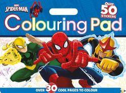 Marvel Spider-Man Colouring Pad