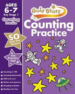 Gold Stars Counting Practice Ages 6-7 Key Stage 1