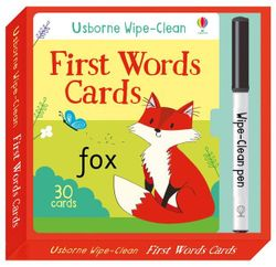 Wipe Clean First Words Cards