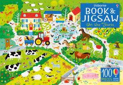 Usborne Jigsaw with a Book
