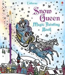 Snow Queen Magic Painting Book