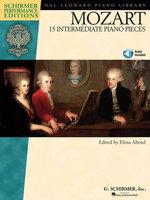 Mozart - 15 Intermediate Piano Pieces (Songbook)