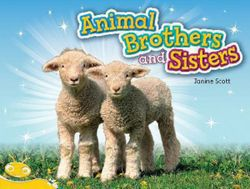 Bug Club Level 6 - Yellow: Animal Brothers and Sisters (Reading Level 6/F&P Level D)