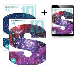 Pearson Science 10 Student Book, eBook and Activity Book