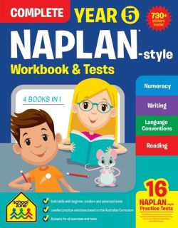 NAPLAN - Style Complete Workbook and Tests Year 5