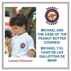 Michael and the Case of the Peanut Butter Cookies!
