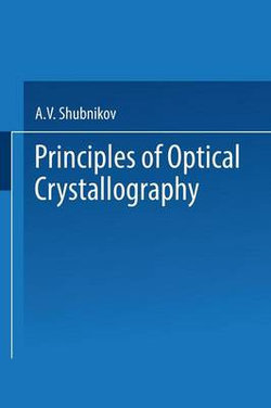 Principles of Optical Crystallography