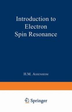 Introduction to Electron Spin Resonance