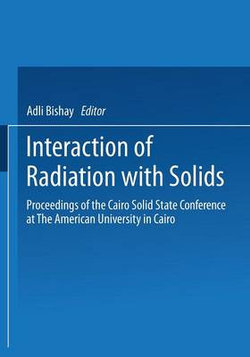 Interaction of Radiation with Solids