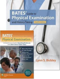 Bates' Guide 12e and Bates' Visual Guide 18 Vols with OSCEs Package