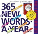365 New Words-A-Year Page-A-Day Desk Calendar 2019