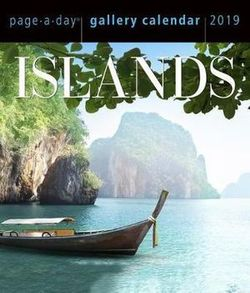 Islands Page-A-Day Gallery Desk Calendar 2019