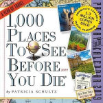 1,000 Places to See Before You Die Page-A-Day Desk Calendar 2019
