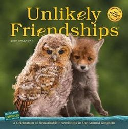 Unlikely Friendships 2019 Square Wall Calendar