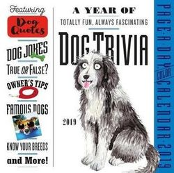 Dog Trivia Page-A-Day Desk Calendar 2019