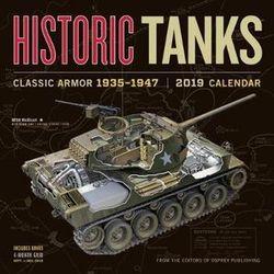 2019 Historic Tanks Wall Calendar