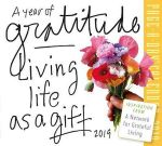 A Year of Gratitude Page-A-Day Desk Calendar 2019