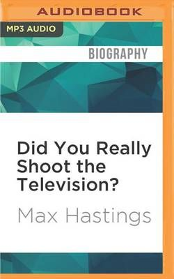 Did You Really Shoot the Television?