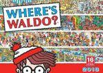 Where's Waldo? 2018 Calendar