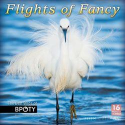 Flights of Fancy: the Best Birds of Bpoty, Bird Photographer of the Year 2018 Wall Calendar
