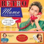 Retro Mama 17 Month 2018 Calendar/Planner