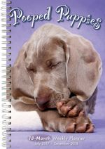 Pooped Puppies 2018 Engagement Calendar