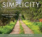 Simplicity 2018 Daily Calendar