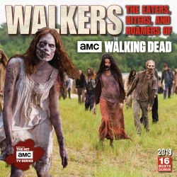 Walkers: the Eaters, Biters, and Roamers of the Walking Dead Amc 2019 Square Wall Calendar
